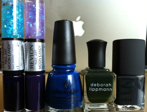 beautybagg fall 2012 nail favorites